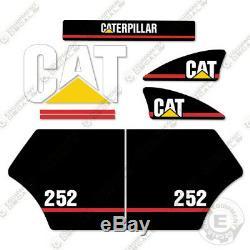 Caterpillar 252 Decal Kit Equipment Décalcomanies Ancien Style