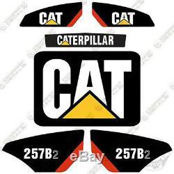 Caterpillar 257b-2 Decal Kit Skid Steer Équipement Autocollants 257 B 2