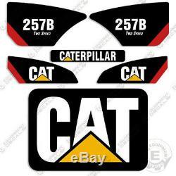 Caterpillar 257b Decal Kit Autocollants D'équipement