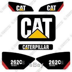 Caterpillar 262 C2 Haut Débit Xps 2 Vitesse Decal Kit Autocollants D'équipement