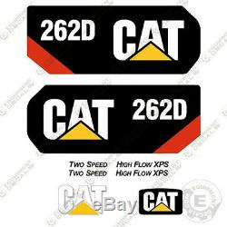 Caterpillar 262 D Decal Kit Skid Autocollants D'équipement Steer