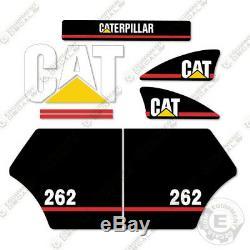 Caterpillar 262 Équipement Decal Kit Stickers Ancien Style