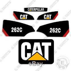 Caterpillar 262c Decal Kit Autocollants D'équipement