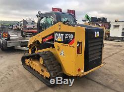 Caterpillar 279 D Cat Y2016 Chargeuse Sur Piste À Roues Xps À Débit Élevé 38500 £ + Tva