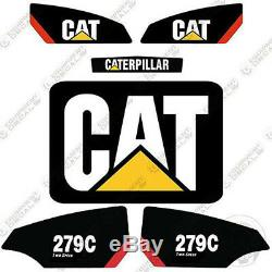 Caterpillar 279c 2 Autocollants Équipement Decal Kit Vitesse