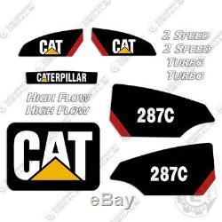Caterpillar 287c Decal Kit Autocollants D'équipement