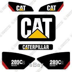 Caterpillar 289c-2 Decal Kit Décalcomanies Équipement (xps À Haut Débit À Deux Vitesses)