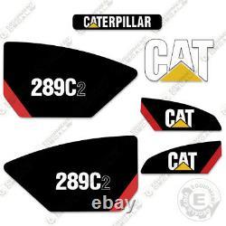 Caterpillar 289c2 Decal Kit Décalcomanies Équipement 289 C2 Skid Steer __gvirt_np_nn_nnps<__