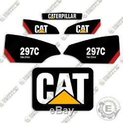 Caterpillar 297c Décalcomanies Équipement Decal Kit 297 C (à Deux Vitesses)