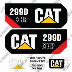 Caterpillar 299d Xhp Décalcomanies Équipement Decal Kit 299 D Xhp