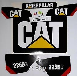 Caterpillar Cat Chargeurs Compacts Decal 226b3 Sticker Set Expédition Rapide Gratuit