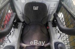 Chargeur À Direction À Glissement Sur Chenilles Cat 277c, Chaleur, Nouvelles Chenilles, 2 Vitesses, Float Control