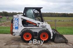 Chargeur À Roues Fixes Bobcat 753 + Godet Kubota Engine 6750 € + Tva