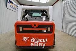 Chargeur Miniature Bobcat T650, 2 Vitesses, Ac / Chaleur, Seulement 1441 Heures