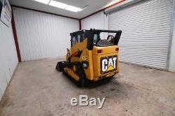 Chargeur Sur Chenilles Caterpillar 259b3 Cab, 71 HP