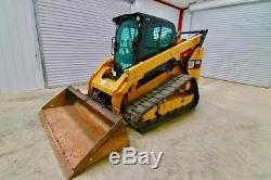 Chargeur Sur Chenilles Caterpillar 299d2, 95 Cv, 2 Vitesses, Charge De Basculement 9200 Lb