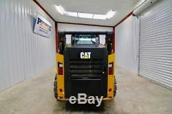 Chargeur Sur Roues Skid Steer Cat 242d 2015, Ac / Heat, 73 Hp, Chenilles, 453 Heures