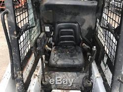 Chargeuse Bobcat 553 Chargeuse Kubota Sur Moteur Diesel
