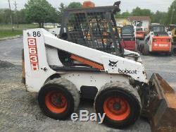 Chargeuse Compacte Bobcat 863 1997 À Haut Débit