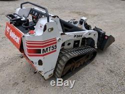 Chargeuse Compacte Bobcat Mt55 2007