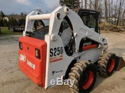 Chargeuse Compacte Bobcat S250 2004, Chauffage / Climatisation, 1040 Heures