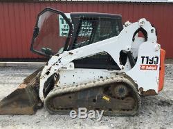 Chargeuse Compacte Bobcat T190 2013 Avec Cabine