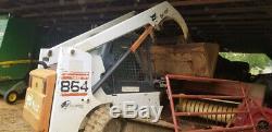 Chargeuse Compacte Sur Chenilles Bobcat 864 2003 Compacte Un Seul Propriétaire Jusqu'à 2200 Heures