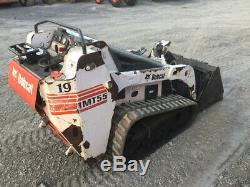 Chargeuse Compacte Sur Chenilles Bobcat Mt55 2007, Seulement 1 400 Heures