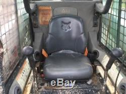Chargeuse Compacte Sur Chenilles Bobcat T180 2004 Avec Cabine