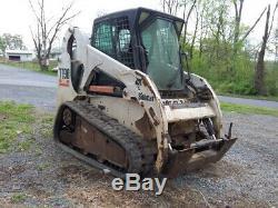 Chargeuse Compacte Sur Chenilles Bobcat T190 2005 Avec Cabine