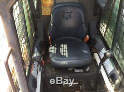 Chargeuse Compacte Sur Chenilles Bobcat T190 2008 Avec Cabine Uniquement 2200 Heures