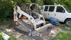 Chargeuse Compacte Sur Chenilles Bobcat T190 2010, Seulement 2 600 Heures À Venir