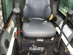 Chargeuse Compacte Sur Chenilles Bobcat T190 2013 Avec Cabine