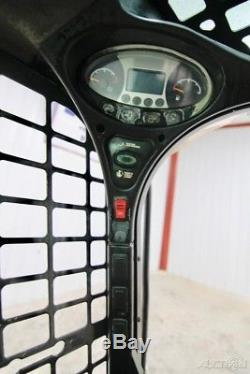 Chargeuse Compacte Sur Chenilles Bobcat T550 2014, Haut Débit, Ouvert, 66 CV