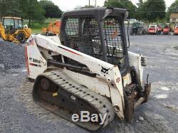Chargeuse Compacte Sur Chenilles Bobcat T550 Compact 2015