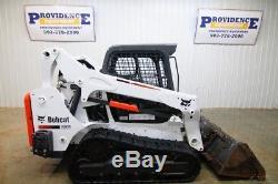 Chargeuse Compacte Sur Chenilles Bobcat T595 2016, Open Rops, 74 Cv, Modèle Iso / H
