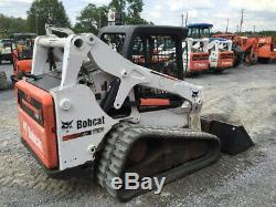 Chargeuse Compacte Sur Chenilles Compacte Bobcat T650 2012 Avec Diesel Kubota