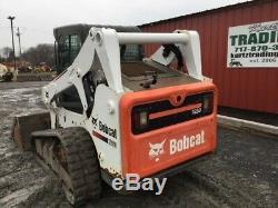 Chargeuse Compacte Sur Chenilles Compactes 2014 Bobcat T650 Avec Cabine Seulement 1700 Heures