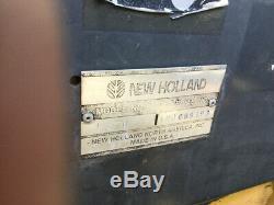 Chargeuse Compacte Sur Chenilles New Holland Ls170 2003 Avec Seulement 1400hrs & Pneus & Roues
