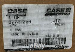 Cnh Case New Holland Skid Steer Panneau De Verre 87727204 Nos