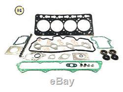 Complet De Joints Avec Joint De Culasse Pour Kubota, Bobcat, 1c020-03310, V3300, V3300t