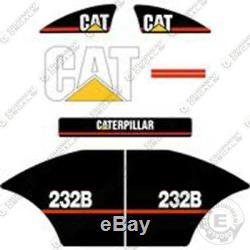 Decal Kit Caterpillar Équipement Décalcomanies Ancien Style De 232b