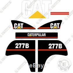 Décalcomanies D'équipement Pour Kit De Décalcomanies Caterpillar 277, Ancien Modèle 277-b 277 B