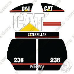 Décalques D'équipement Pour Kit De Décalcomanies Caterpillar 236, Ancien Modèle, 2003