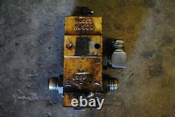 Décharger La Valve Hydraulique E2nnb889ab29z Ford 555b Pelle Rétrocaveuse