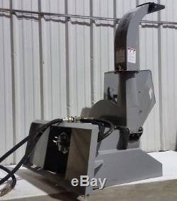 Déchiqueteur De Broyeur De Bois De Chargeur De Dérapage De Trac Vac T5300