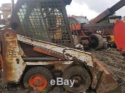 Démarrage De La Benne Basculante Bobcat 463! Résistance De Sécurité Du Chargeur