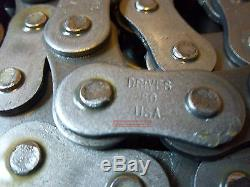 Drives USA # 80 Chaîne Mini Chargeuse À Roulettes 10 'bobcat New Holland Case Thomas