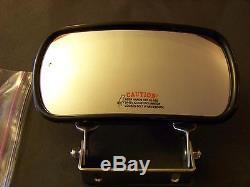 Grand Angle Miroir Skidsteer Chargeur À Patin De Chargeur D'équipement S'adapte À Chat Bobcat Gehl Etc.