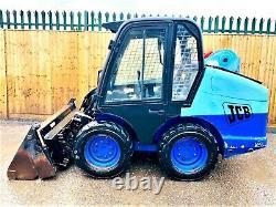 Jcb Robot 170 Skidsteer Loader (2000) (£9900 + Tva) Skd-0156